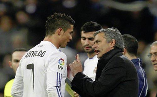 José Mourinho e Cristiano Ronaldo, due pezzi pregiati della scuderia di Mendez